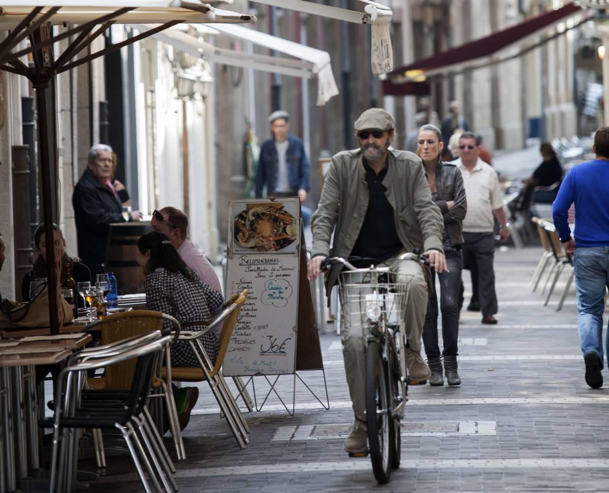 Rúa Real y rúa da Franxa