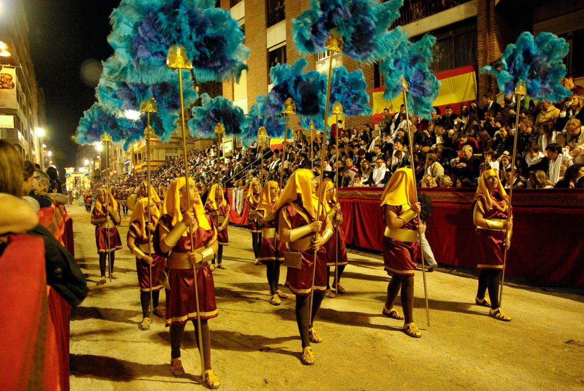 Los desfiles pasionales de Lorca (Murcia)