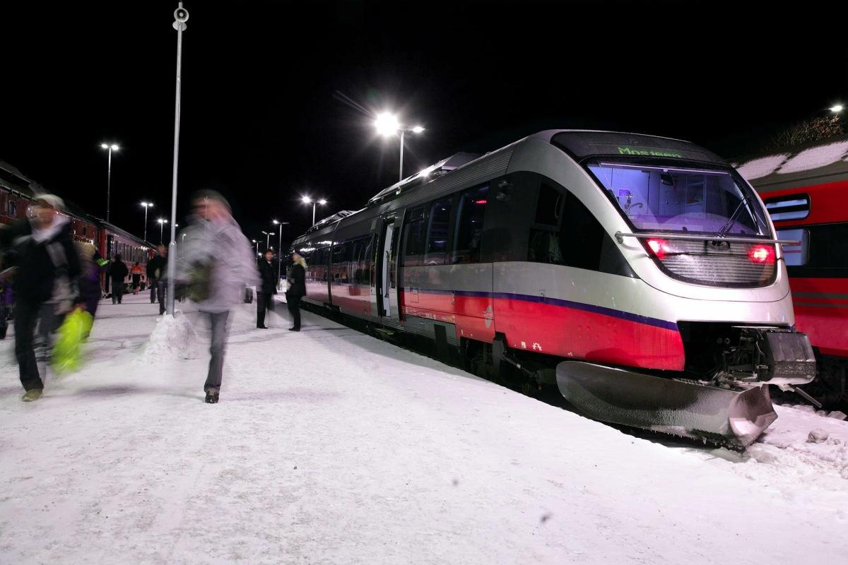 Cómo llegar a Bodø