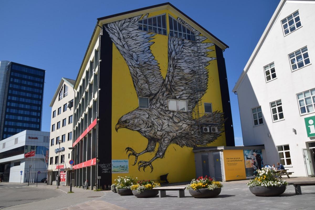 Arte urbano en Bodø