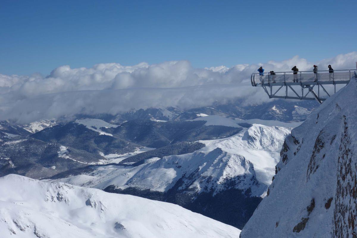 La mejor vista panorámica de los Pirineos franceses