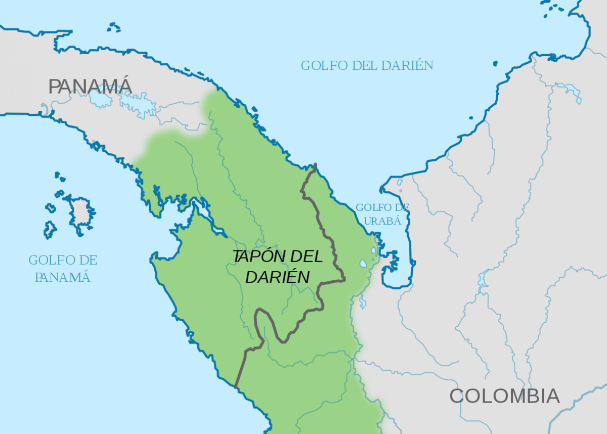 El tapón del Darién