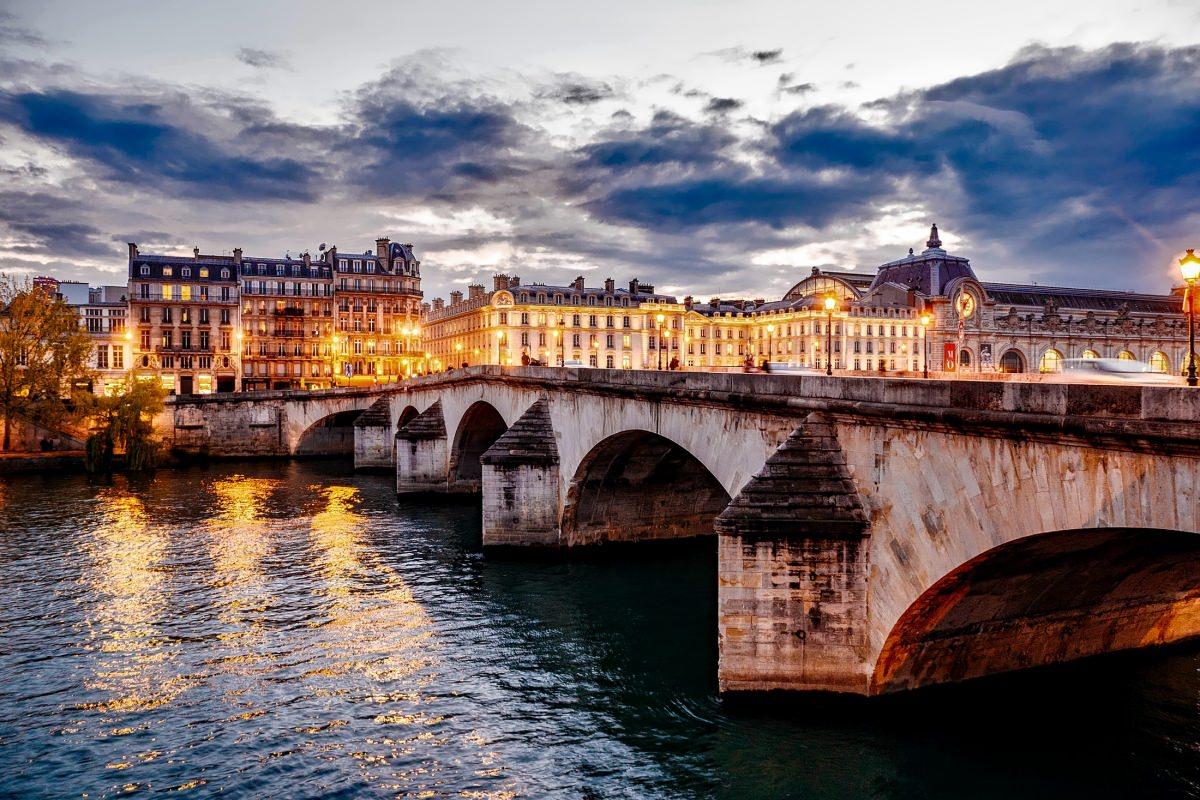 El río Sena y sus puentes