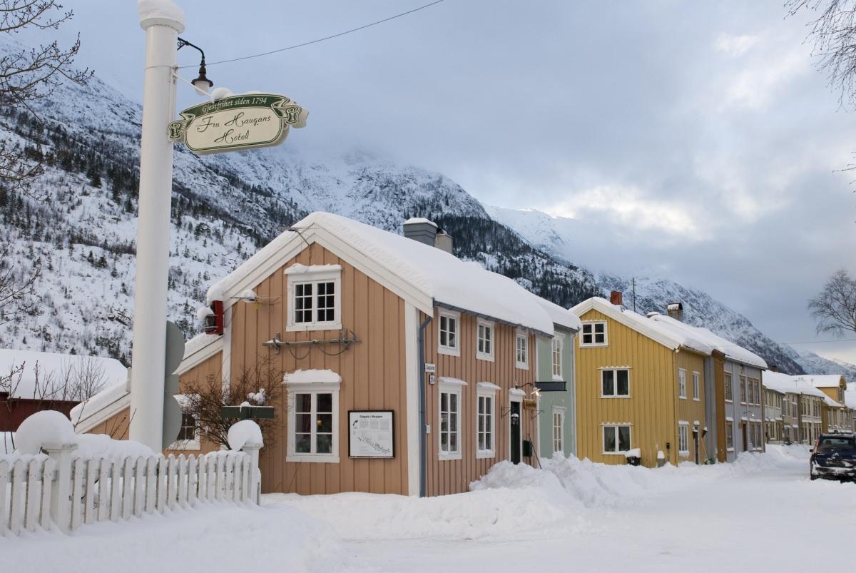 Visitas, alojamiento y dónde comer en Mosjøen