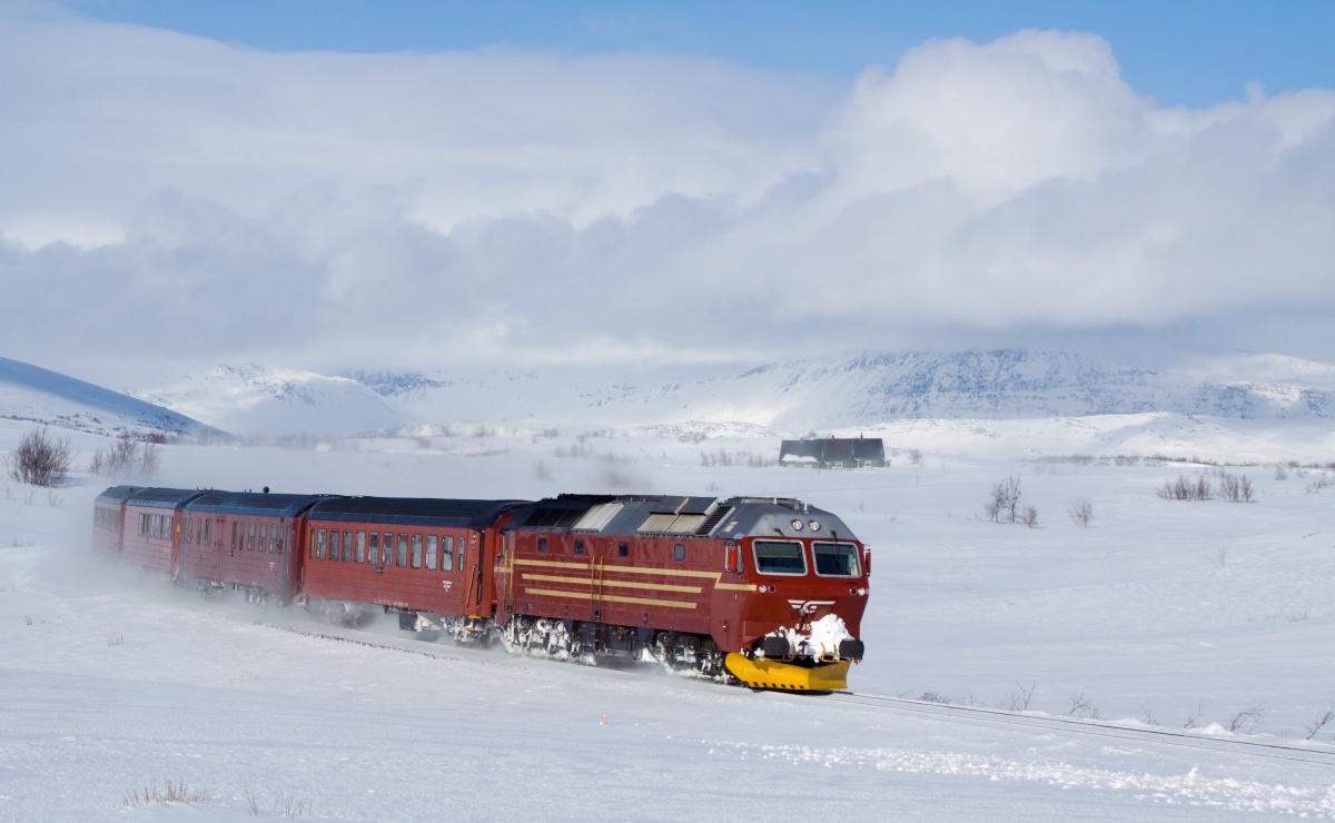 Polar Express o el ferrocarril de Nordland