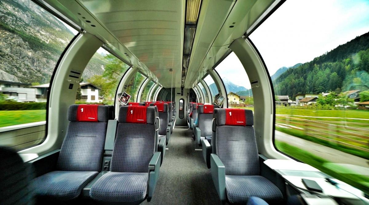 Cómo moverse en tren por Austria