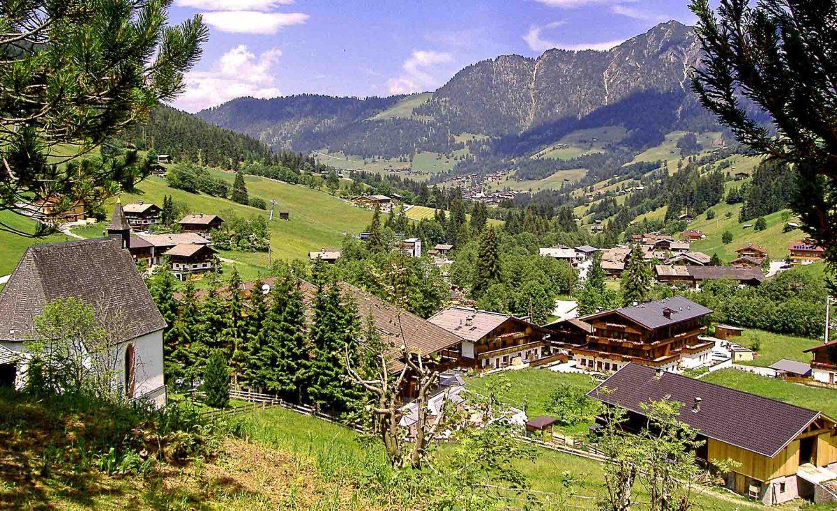 Dormir en una granja en el Tirol