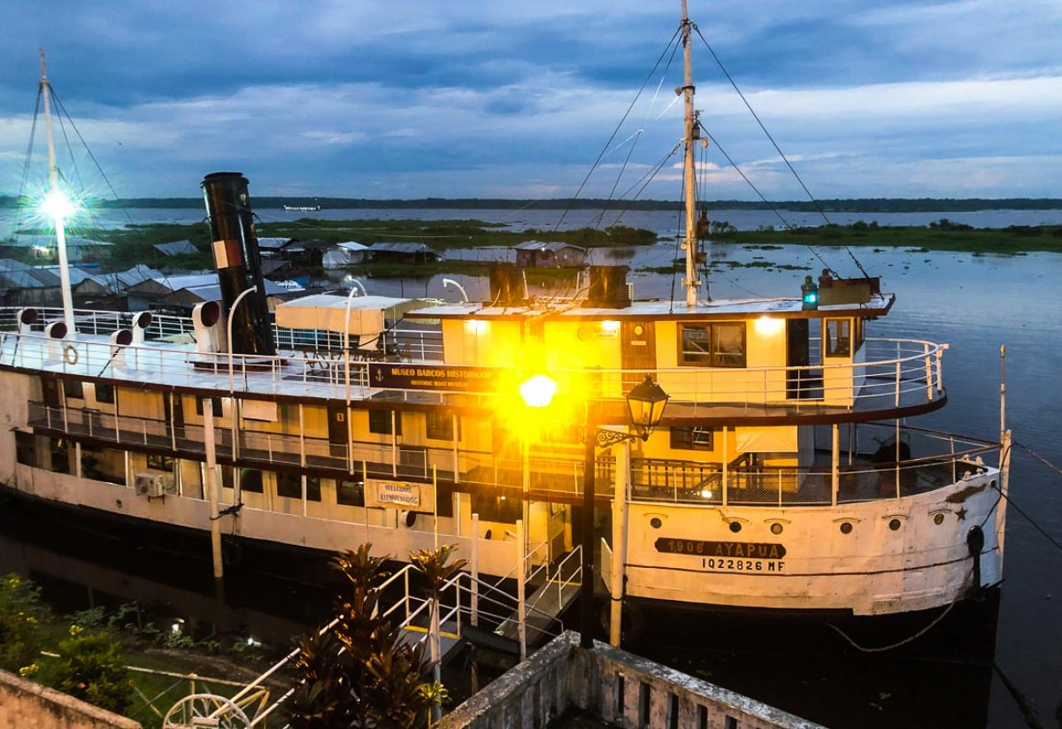Barco-museo Ayapua