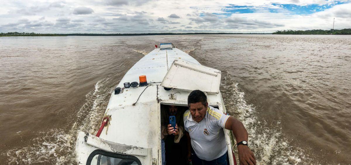 Nacimiento del Amazonas
