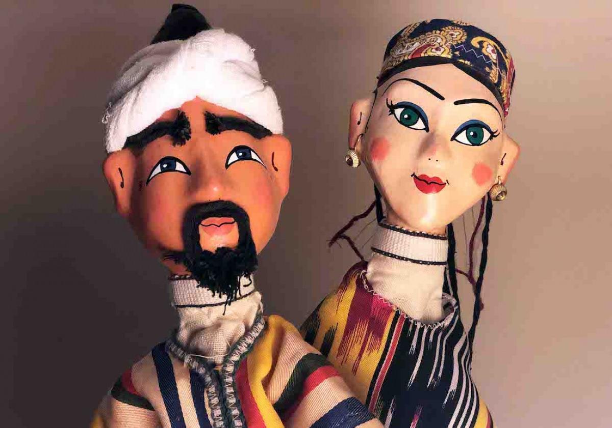 Marionetas de Uzbekistán