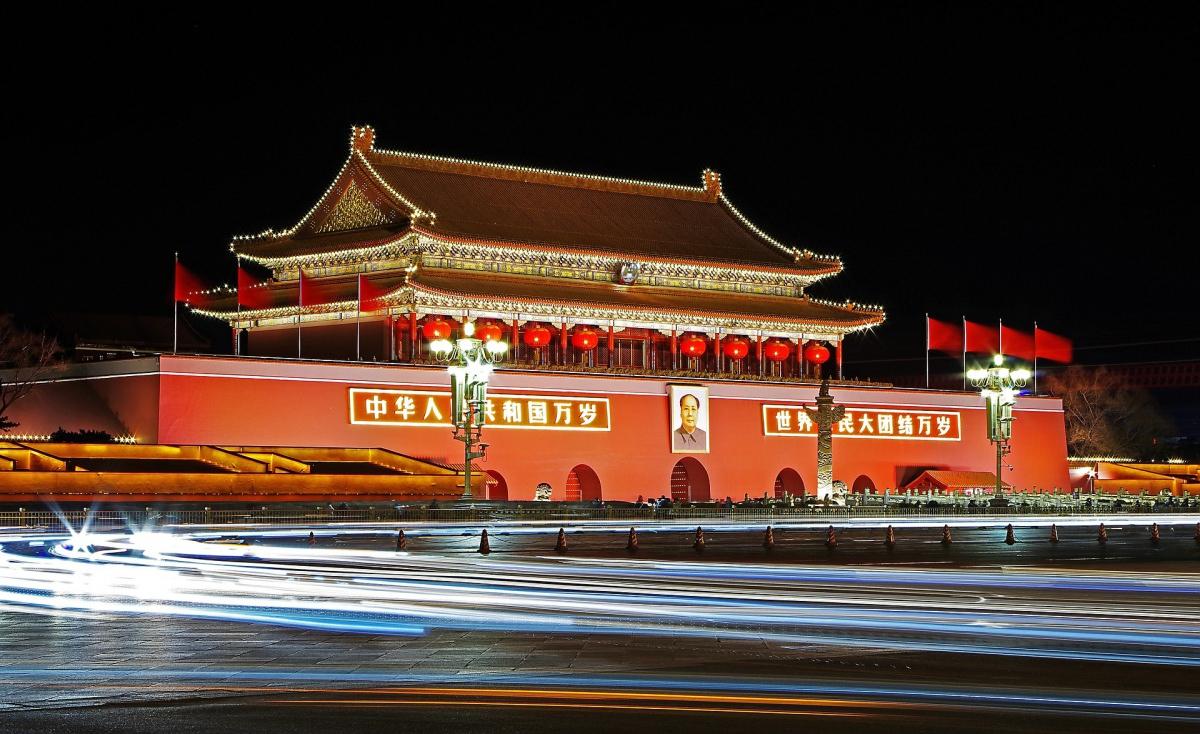 Plaza de Tiananmén y mausoléo de Mao Tse-Tung