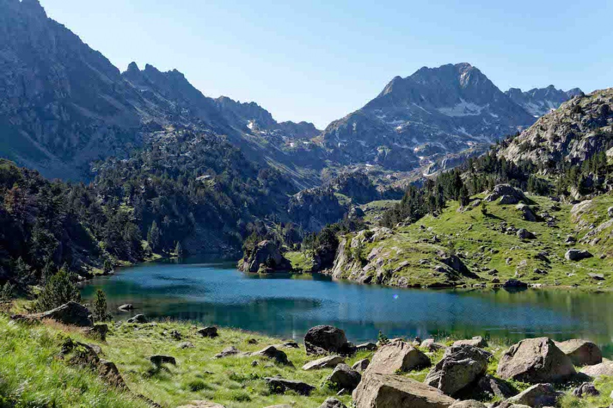 Parque nacional de Aigüestortes i estany de Sant Maurici (Lleida)