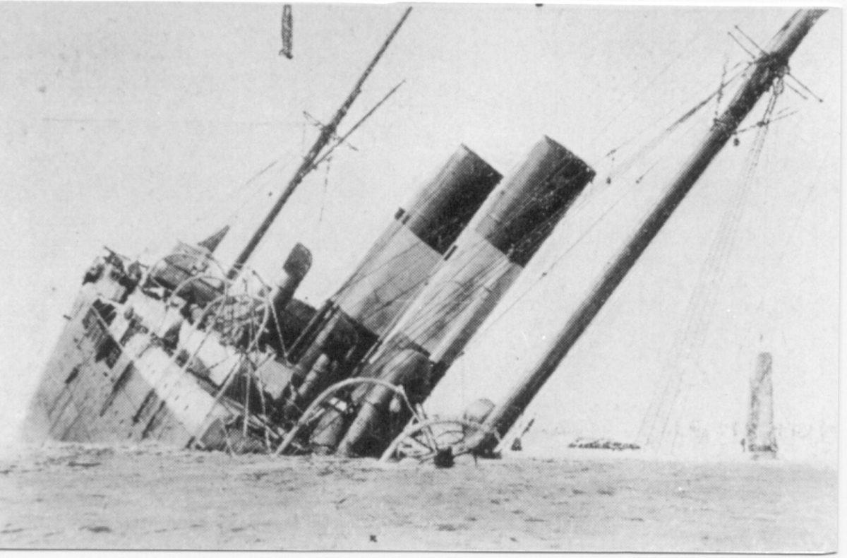 'Sirio', el 'Titanic' del Mediterráneo