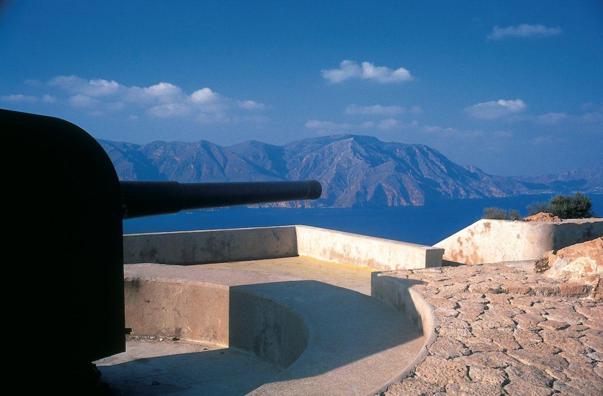 Cabo Tiñoso y sus cañones