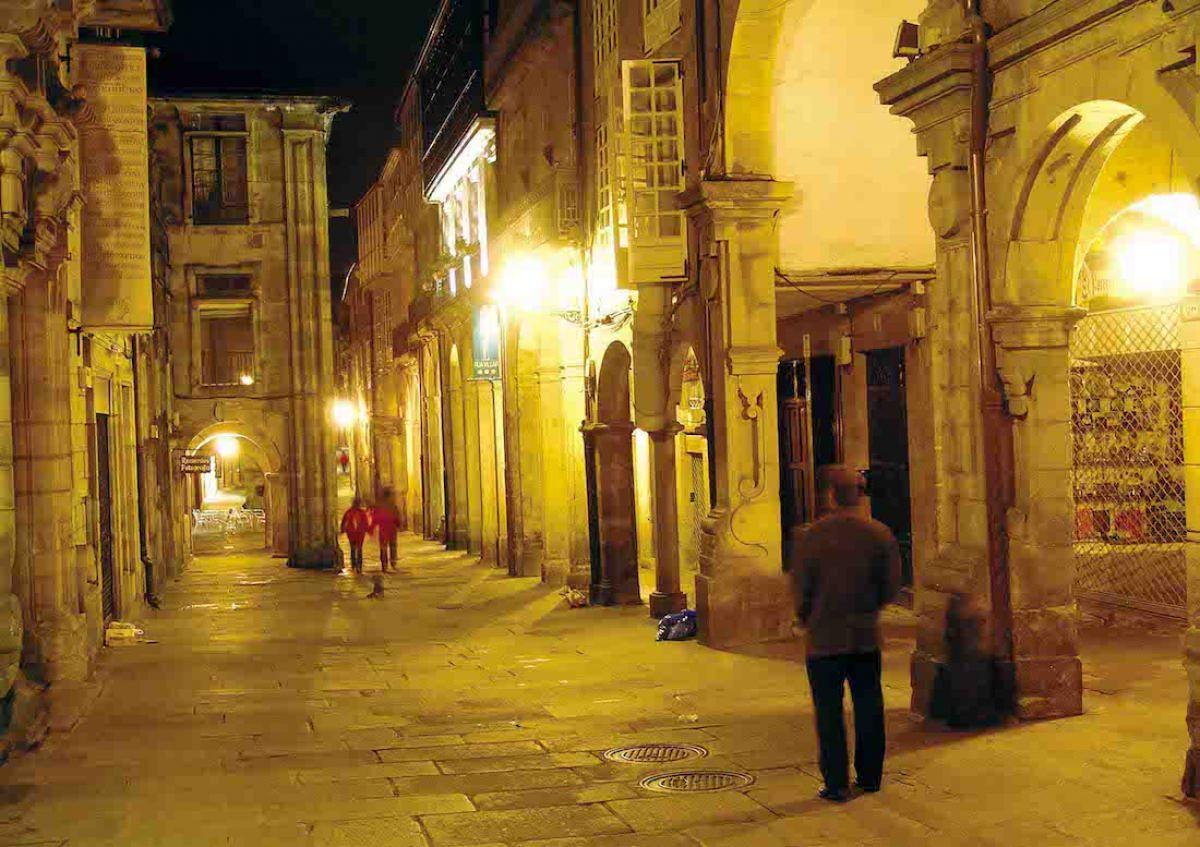 Rúas do Franco, Villar, Nova y Caldeirería