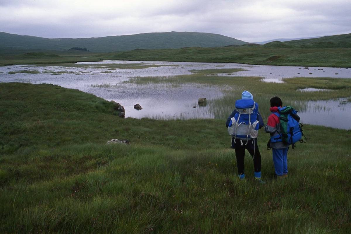 En busca del lago Ness