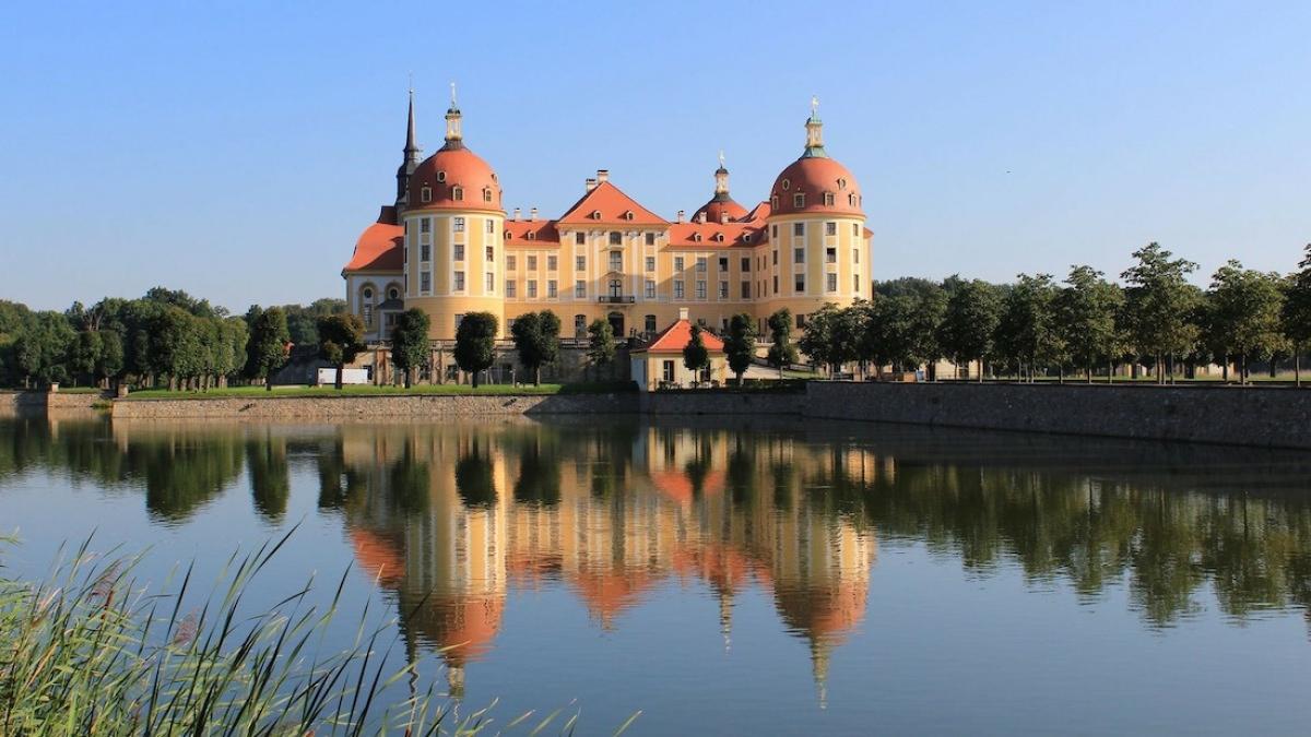 ¿Cómo llegar al palacio de Moritzburg?
