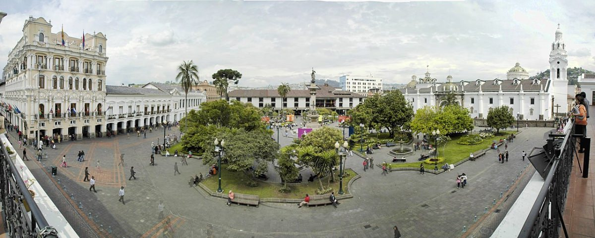 Las plazas de Quito
