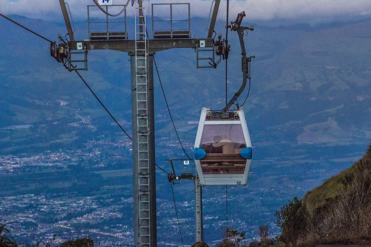 El teleférico del volcán Pichincha
