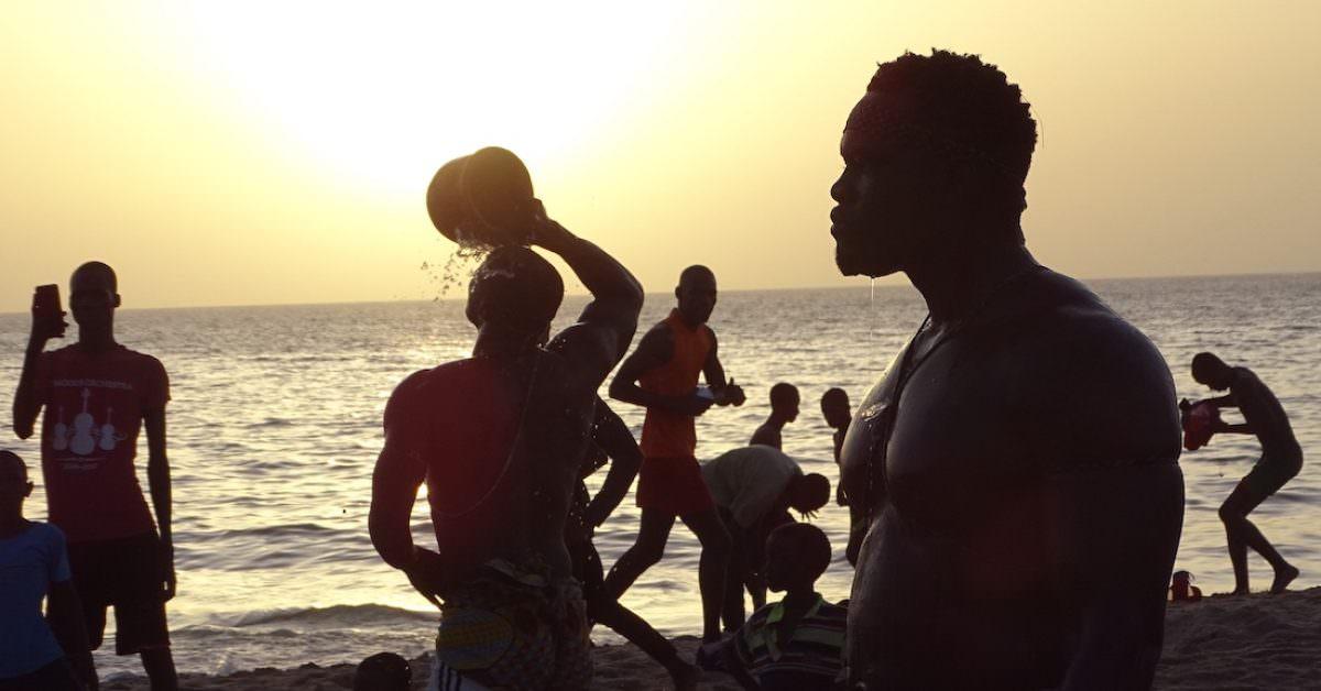La lucha senegalesa en Dakar