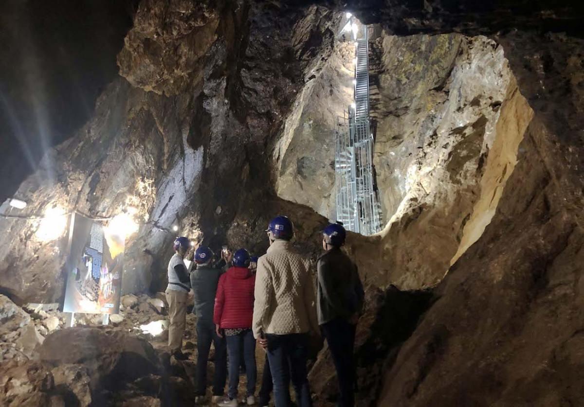 Galería de la mina