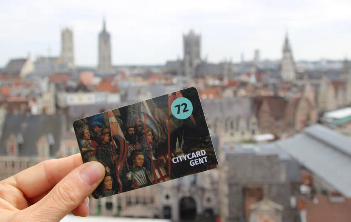 Tarjeta Gante y oficina de Turismo