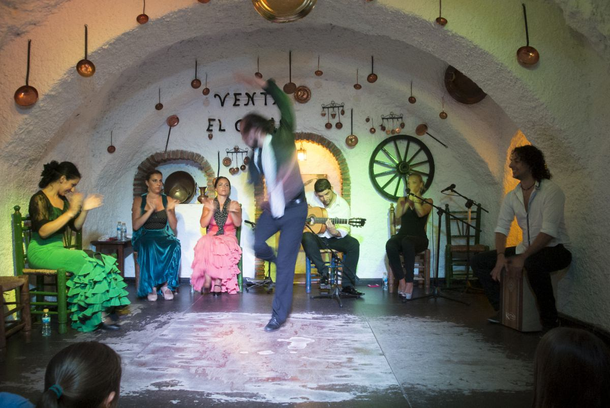 Una noche de flamenco en el Sacromonte