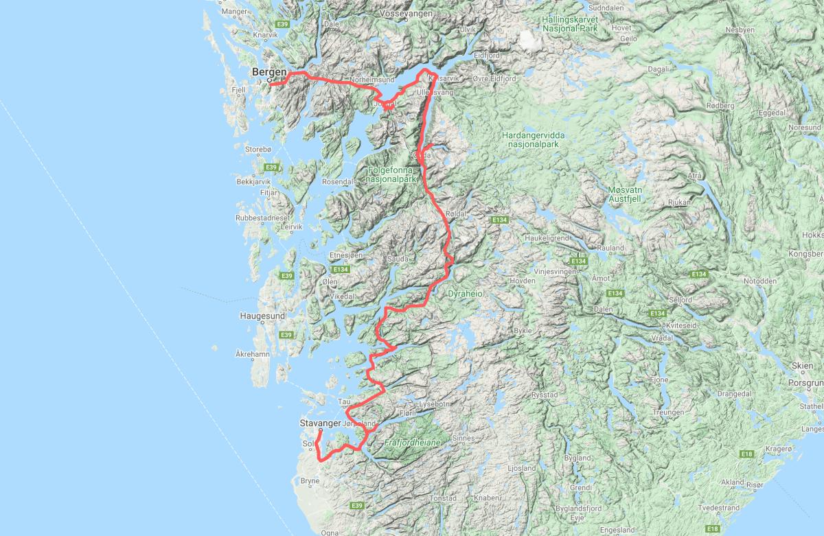 ¿Cómo organizar la ruta?