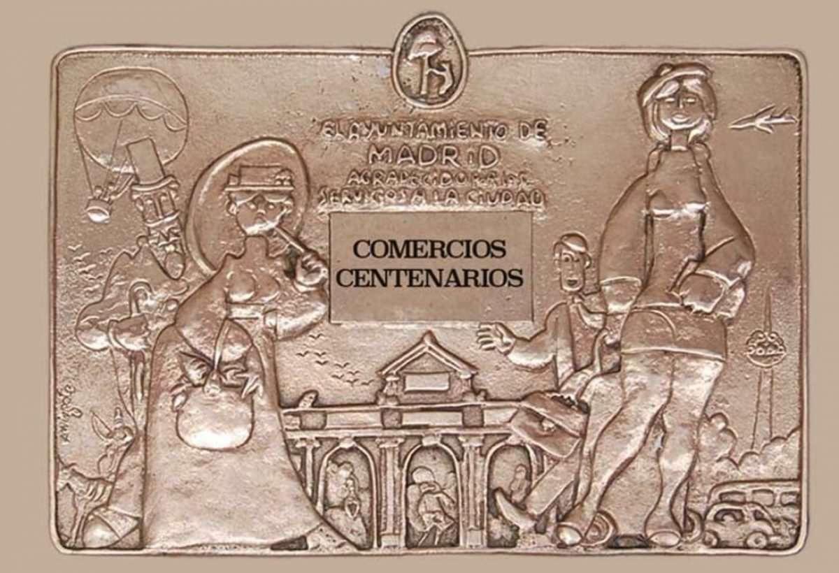 Las placas de bronce conmemorativas de Madrid