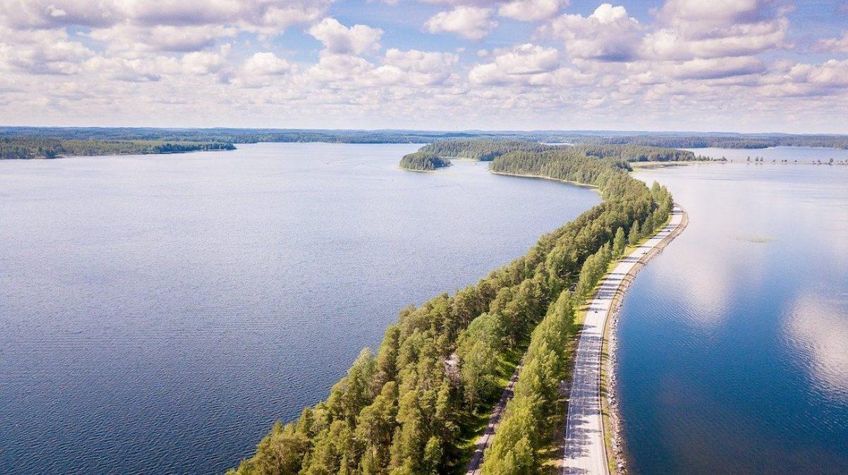 La ruta de los lagos Azules