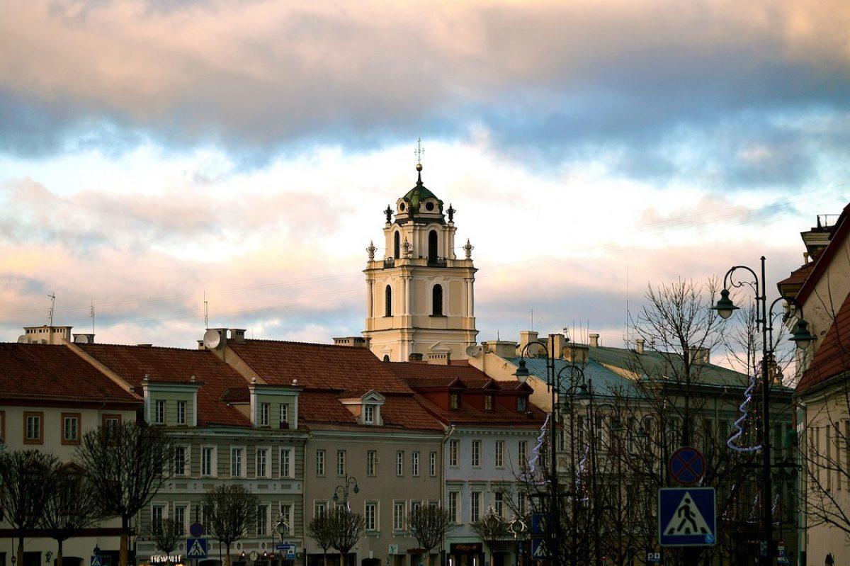 El casco histórico de Vilna