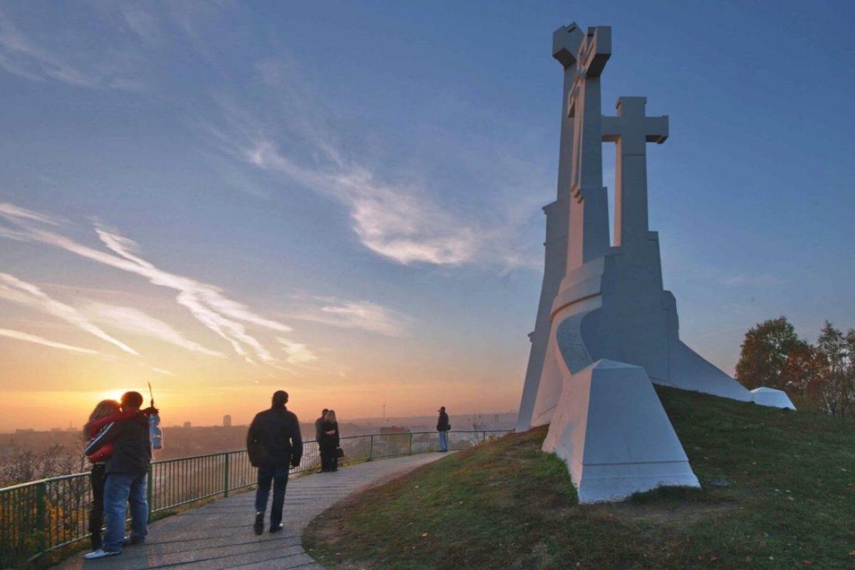 El monumento de las Tres Cruces