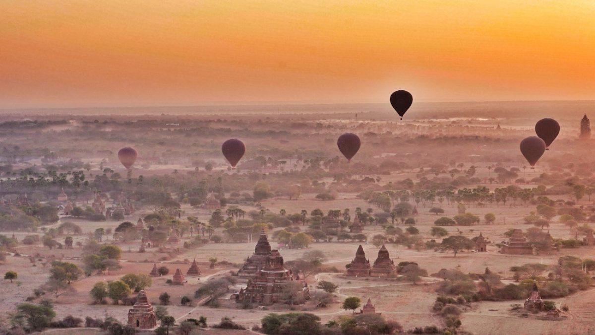 Un vuelo en globo sobre Bagan