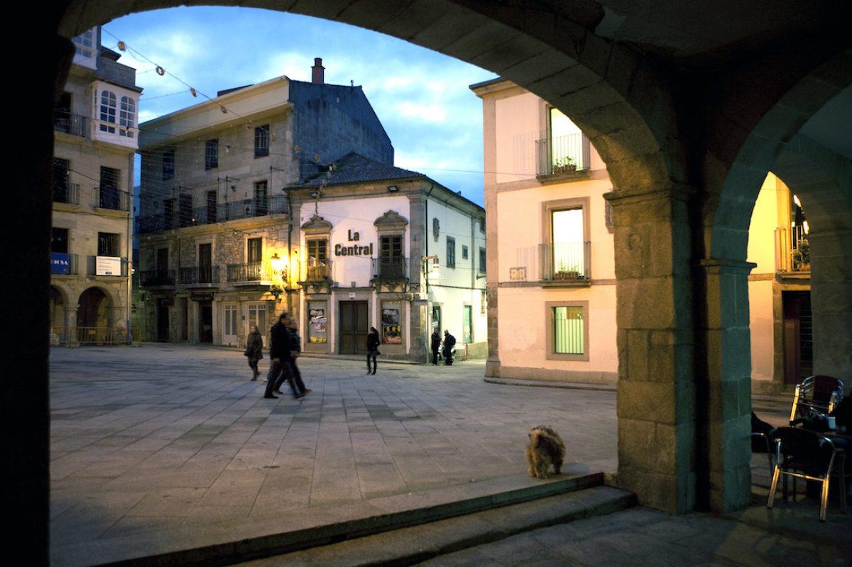 Praza Constitución (Plaza de la Constitución de Vigo)