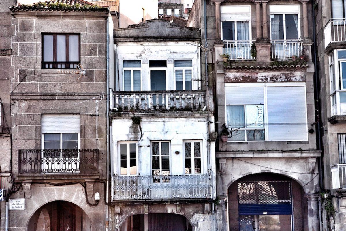 Ribeira de Berbés y rúa Real