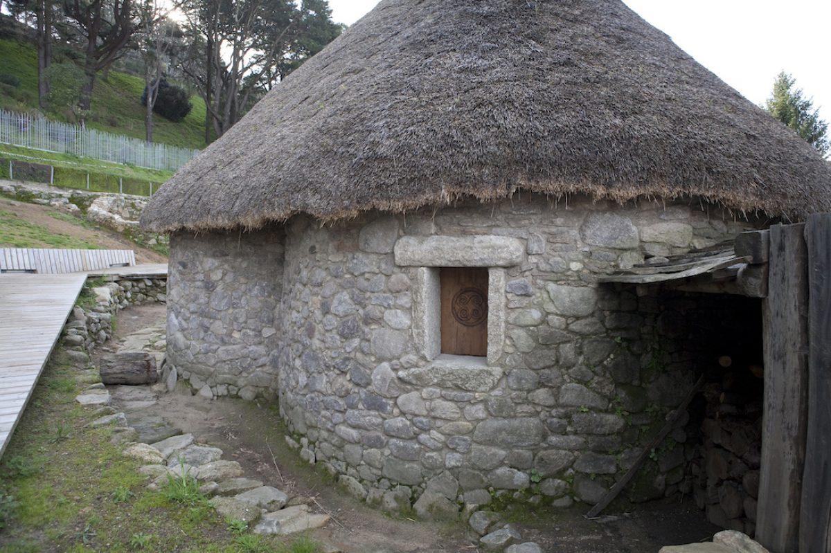 El poblado galaico-romano O Castro