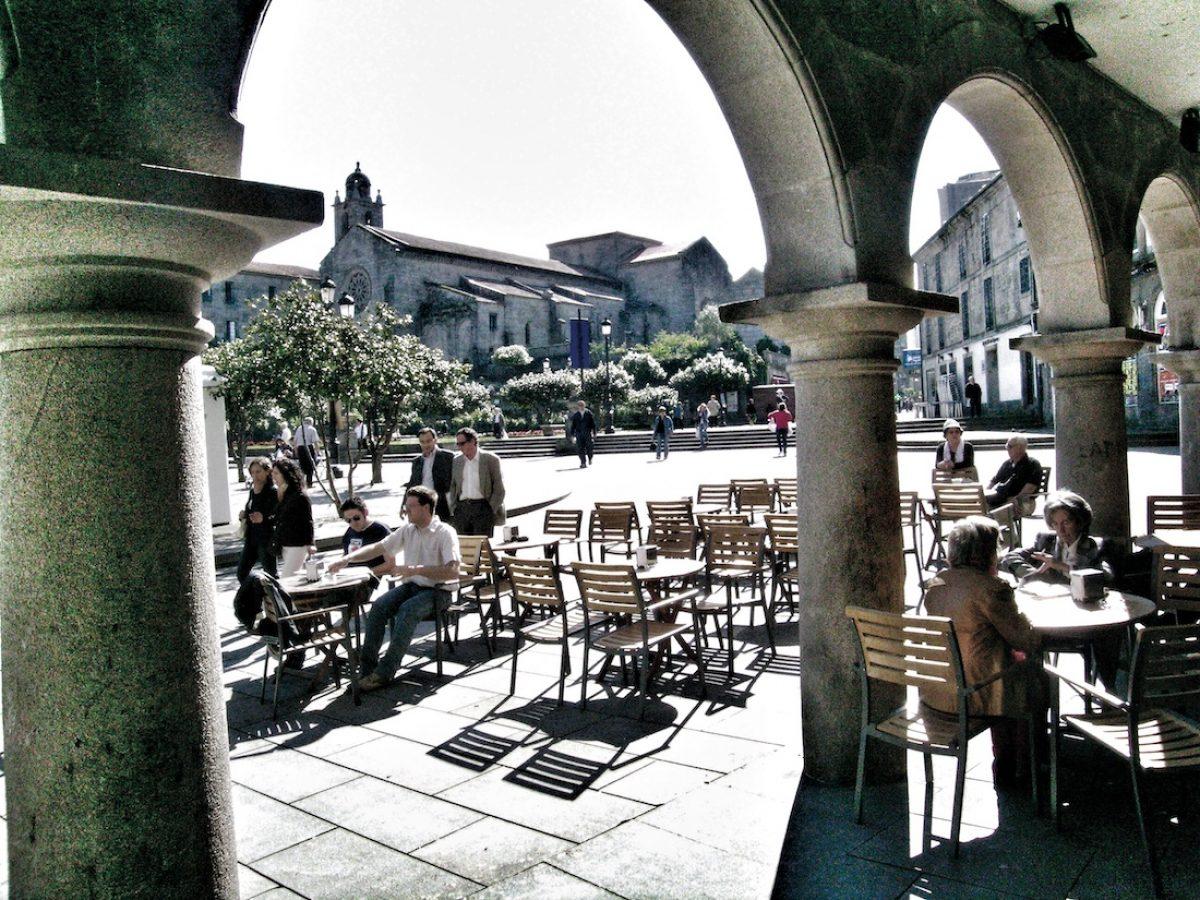 Plaza de la Herrería (praza da Ferraría)