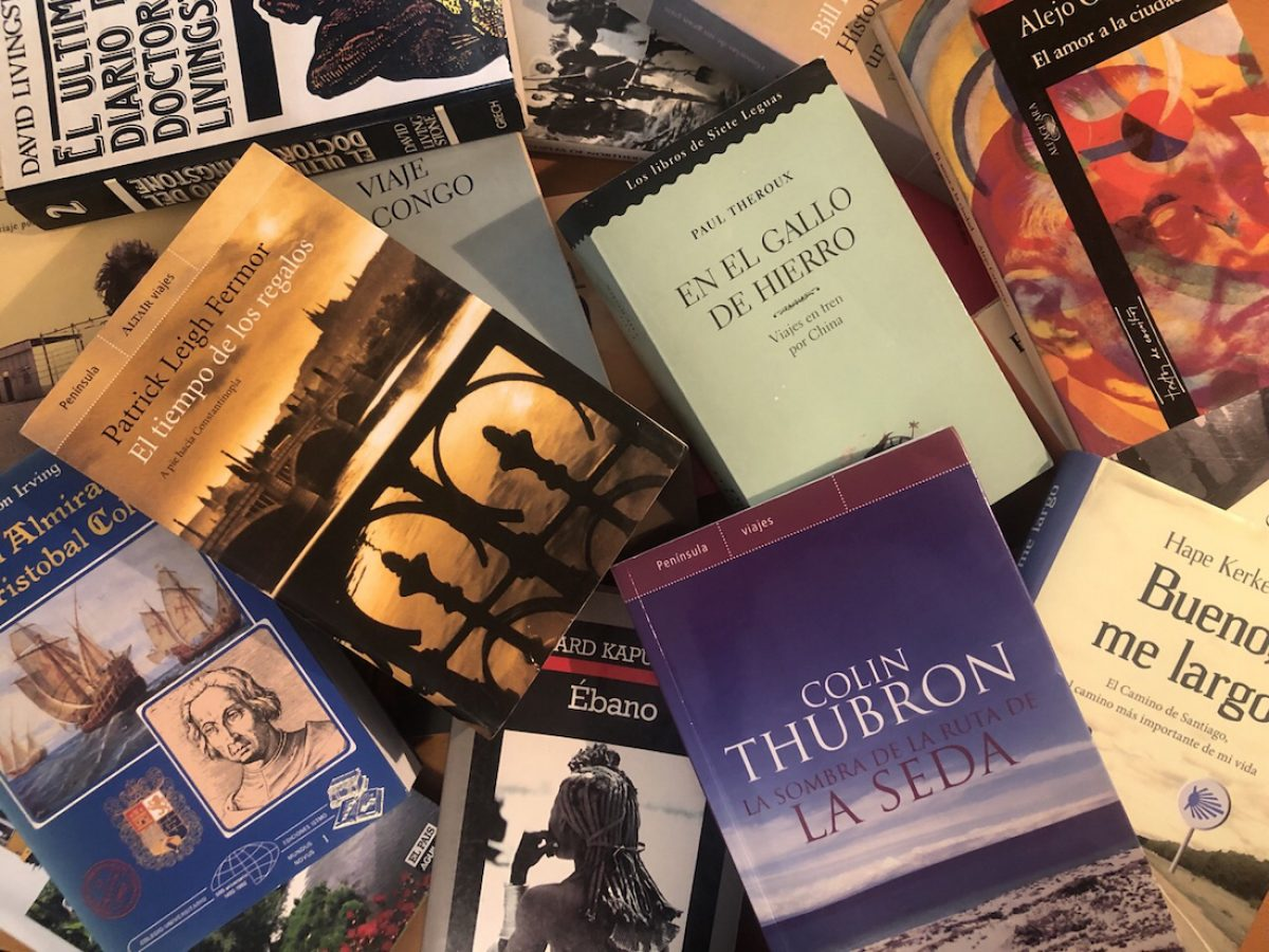 Libros de viajes recomendables