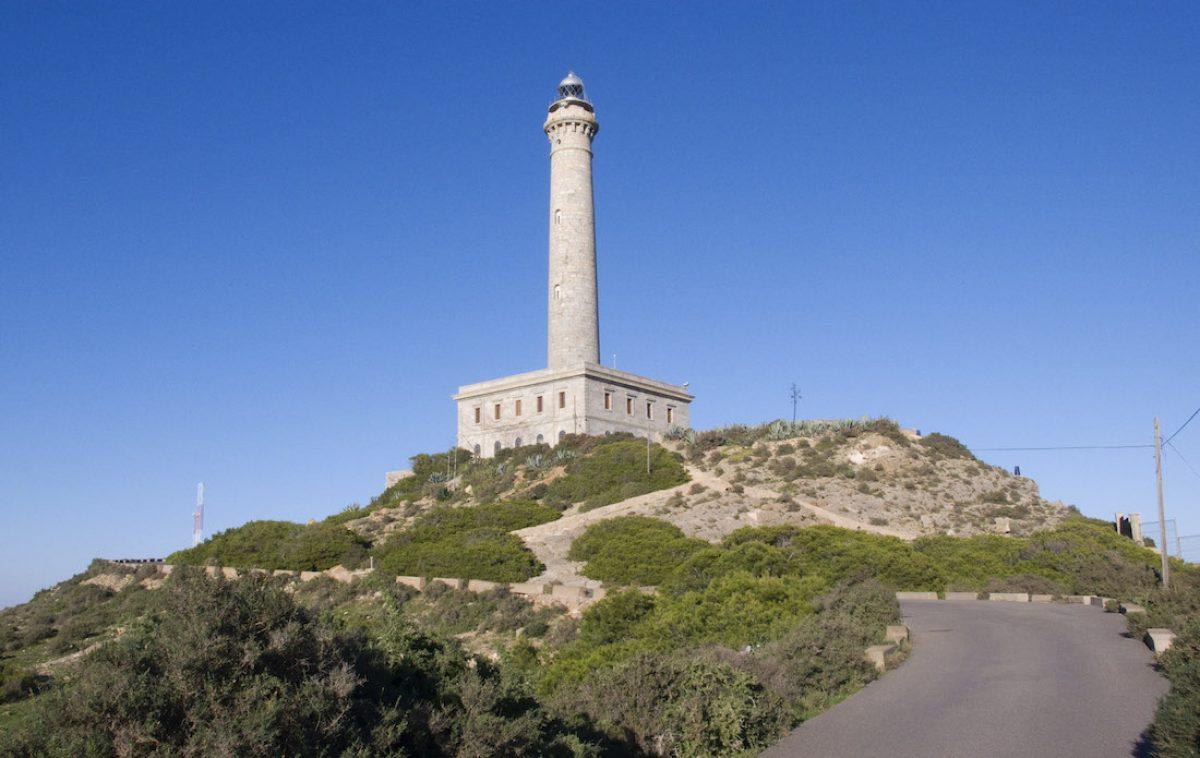 Cabo de Palos y la playa de Levante