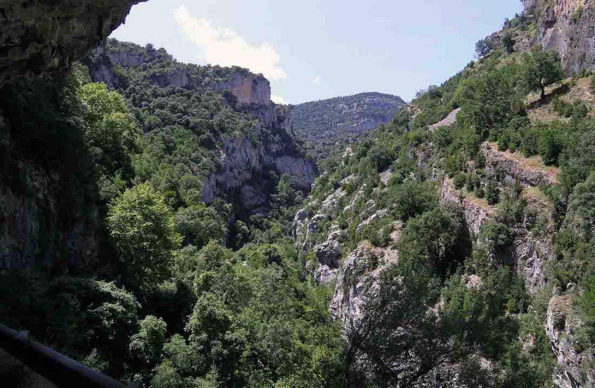 Desfiladero del Bellós (Pirineo de Huesca)