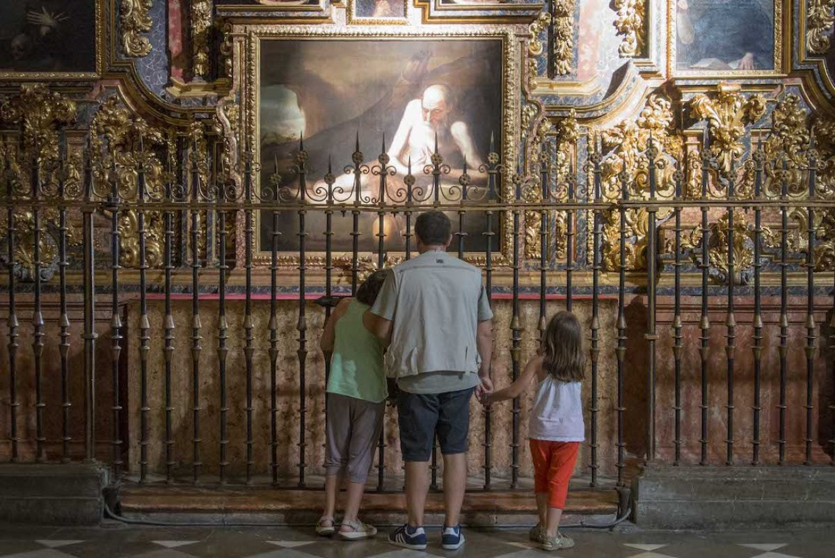 Las capillas laterales