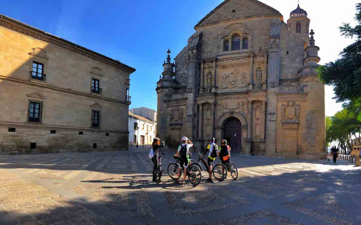 4. EJE TRANSVERSAL: por el valle del Guadalquivir hasta Úbeda y Baeza