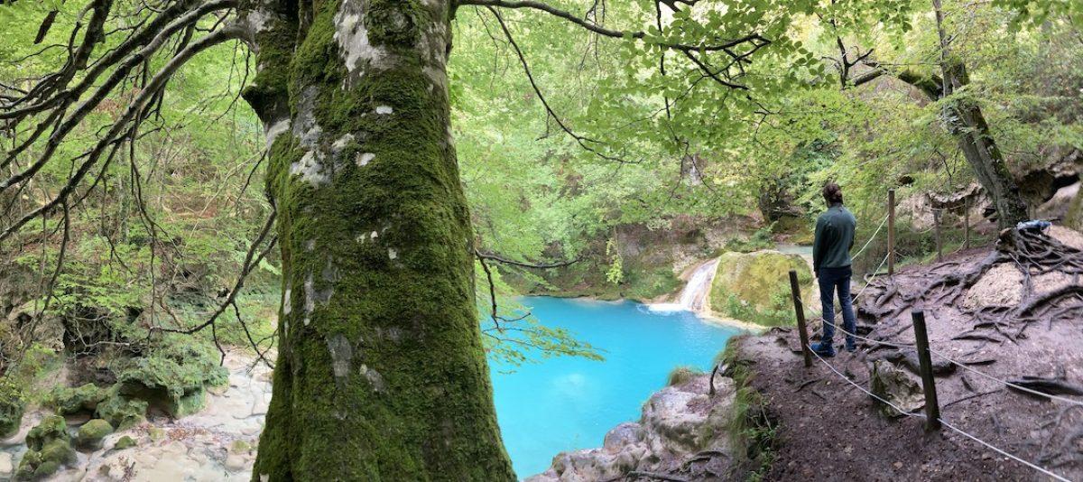 Caminar en busca del nacedero del río Urederra