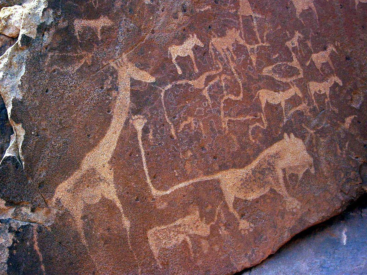 Los petroglifos de Twyfelfontein