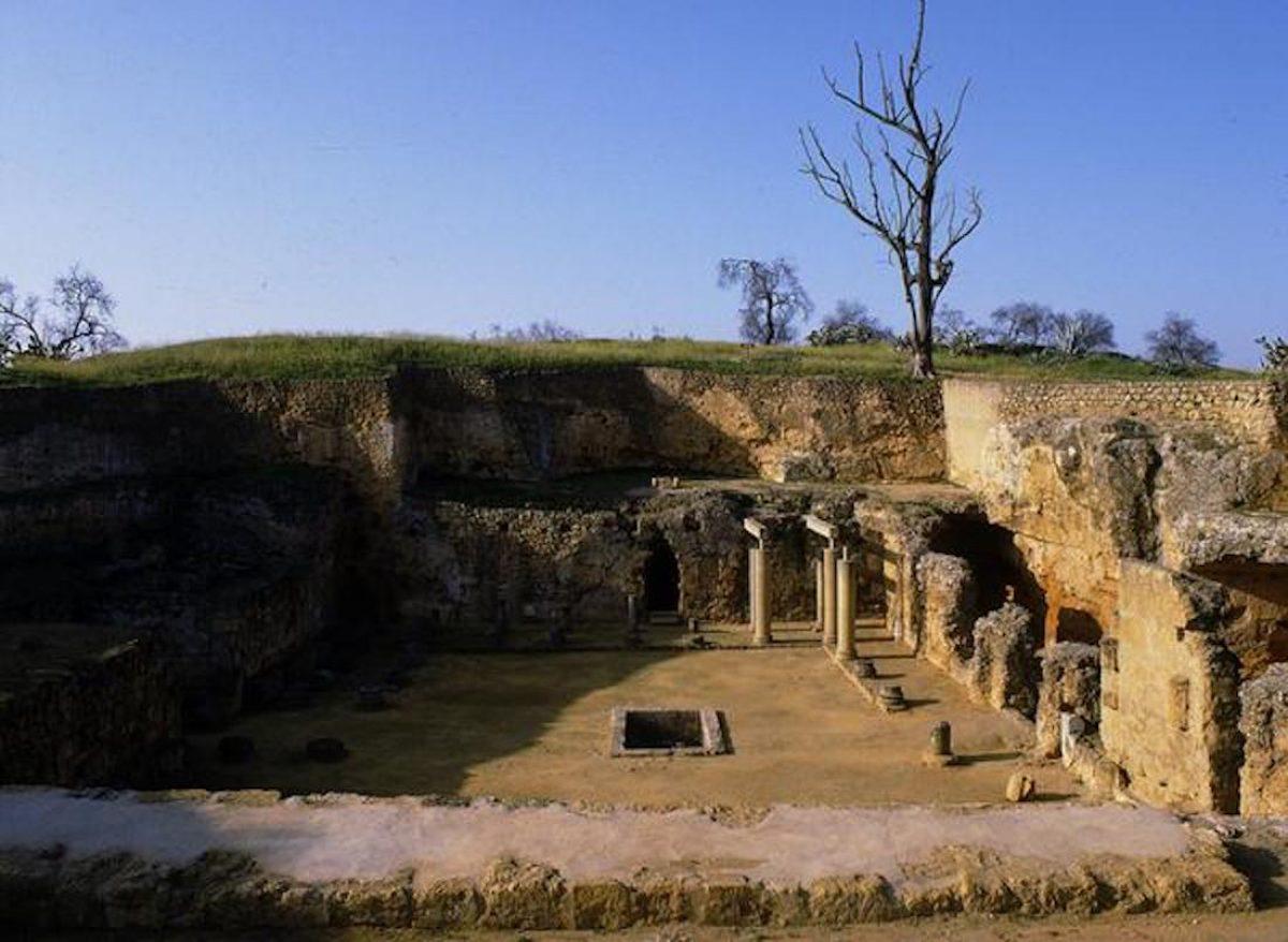 La necrópolis romana