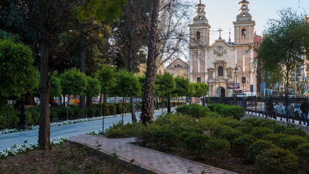 Los jardines de Murcia