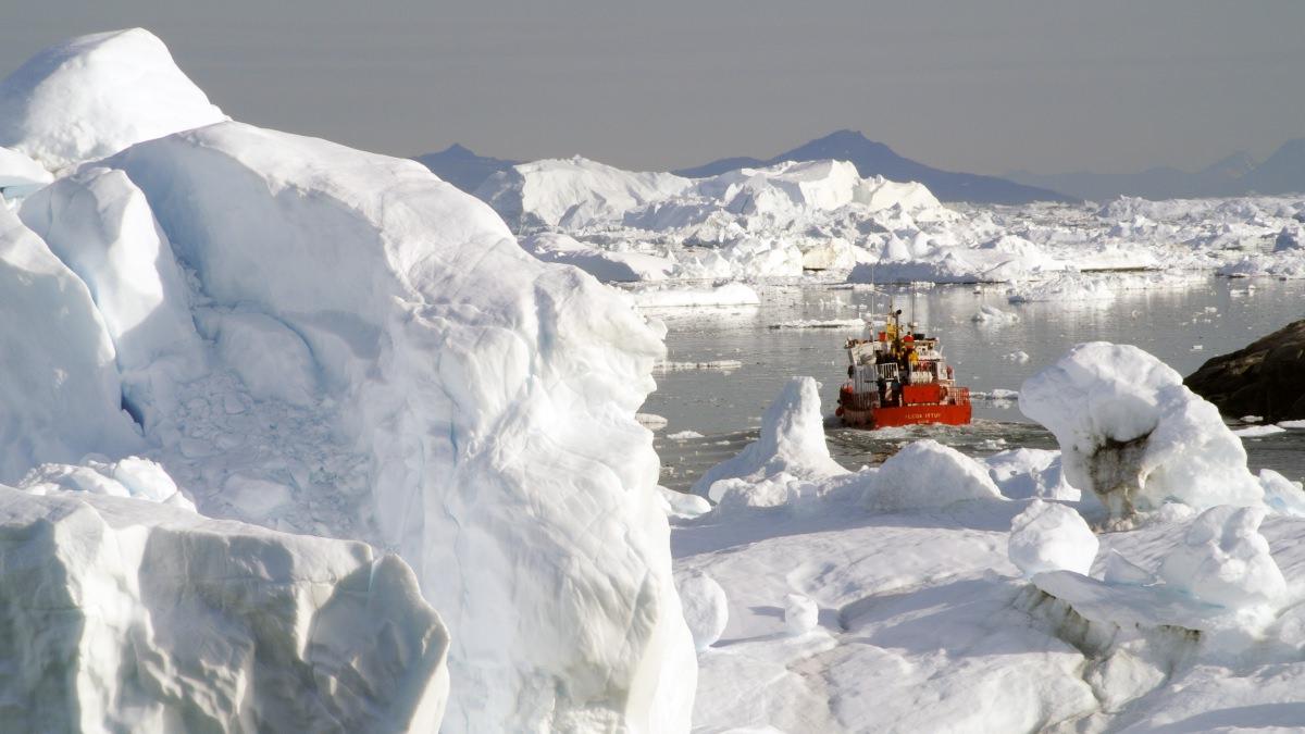 Navegar por el Illulisat Icefjord