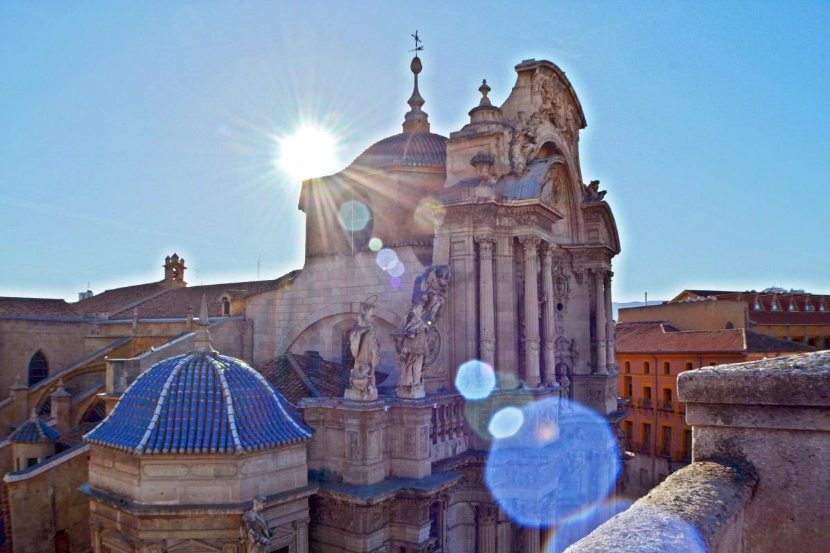 Catedral y casco antiguo de Murcia