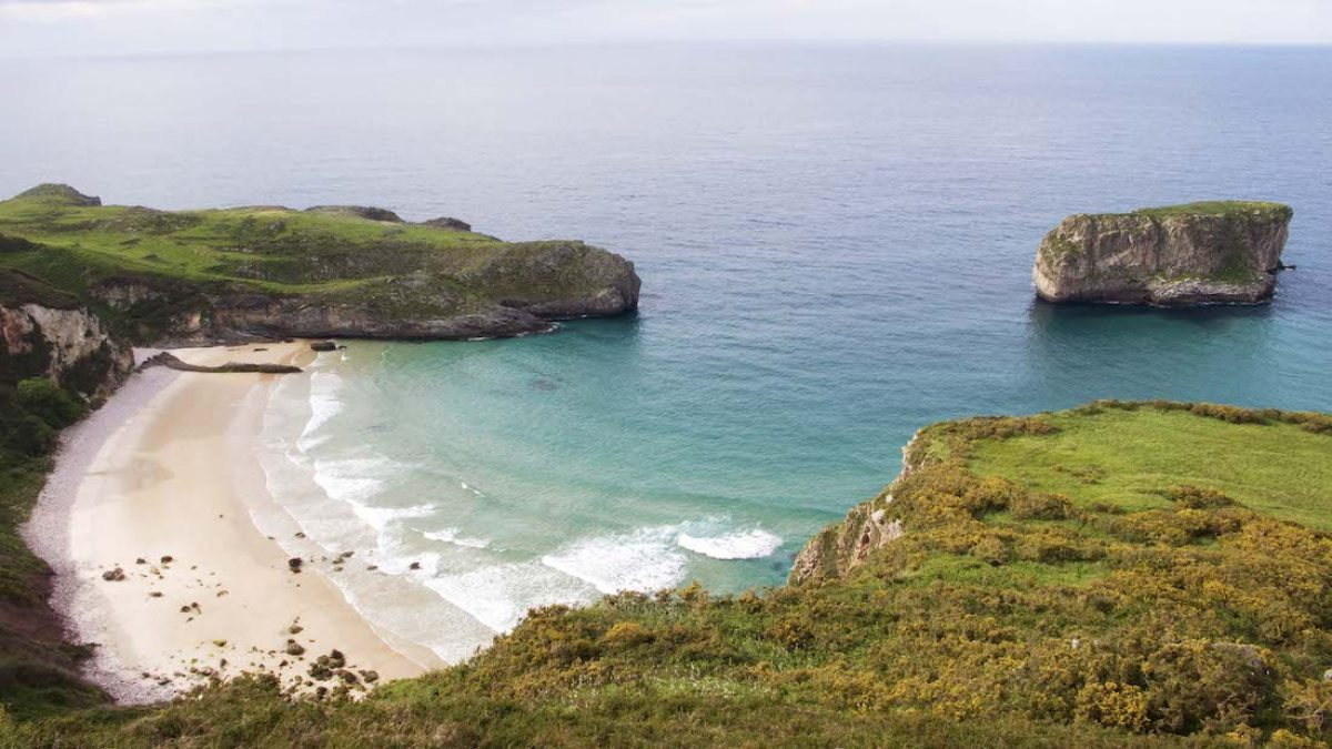 Playas en las cercanías de Llanes