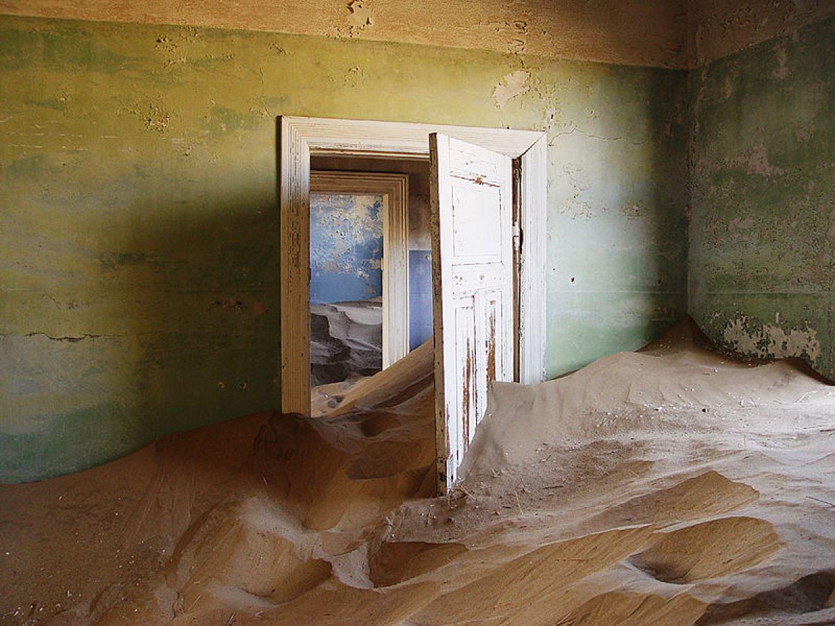 Kolmanskop , la ciudad minera abandonada